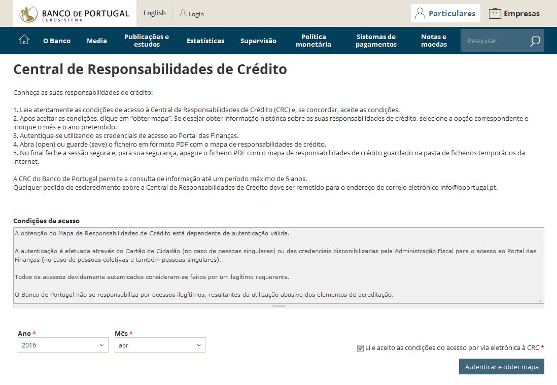 mapa de responsabilidade de crédito Como consultar o Mapa da Central de Responsabilidades através da  mapa de responsabilidade de crédito